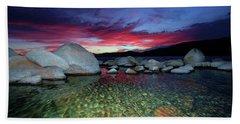 Enter A Tahoe Dream Beach Towel