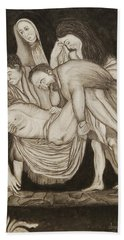Entombment Beach Towel