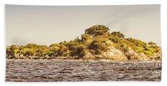 Entrance Island Lighthouse, Hells Gates Beach Towel