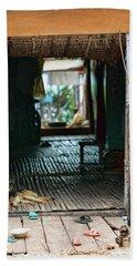 Entrance To Tonle Sap Home  Beach Sheet