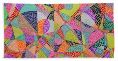 Entropical Evolution Viii Beach Towel
