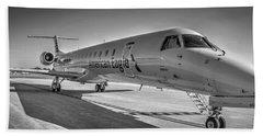Envoy Embraer Regional Jet Beach Towel