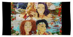 Epitome's Dream The Quadrant Beach Towel