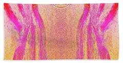 Equipoise Beach Towel by Rachel Hannah