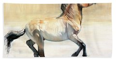 Equus  Beach Towel