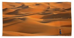 Erg Chebbi Desert Beach Towel