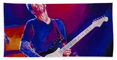 Eric Clapton - Crossroads Beach Towel