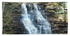 Erie Falls 3 - Ricketts Glen Beach Towel