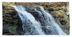 Erie Falls - Ricketts Glen Beach Towel