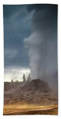 Eruption Beach Towel