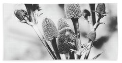 Eryngium #flower #flowers Beach Towel