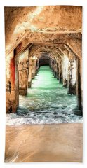 Beach Sheet featuring the digital art Escape To Atlantis by Pennie  McCracken