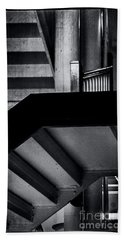 Escher Stairs Beach Sheet