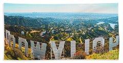 Esthetic Hollywood Beach Towel
