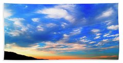 Estuary Skyscape Beach Towel