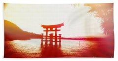 Eternal Japan Beach Towel