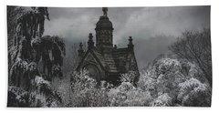 Beach Towel featuring the digital art Eternal Winter by Chris Lord