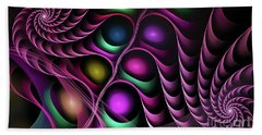 Beach Towel featuring the digital art Eternity  by Melissa Messick