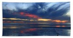 Ethereal Beach Blues Beach Towel