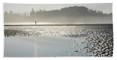 Ethereal Reflection Beach Towel
