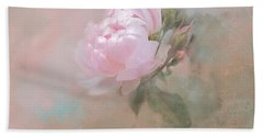 Ethereal Rose Beach Towel
