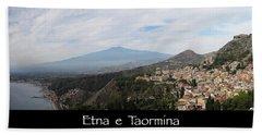 Etna E Taormina Beach Sheet