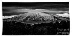 Etna, The West Side Beach Towel