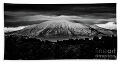 Etna, The West Side Beach Towel