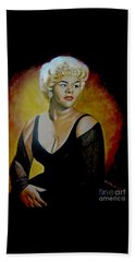 Etta James Beach Towel