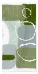Eucalyptus Breeze  2- Art By Linda Woods Beach Towel