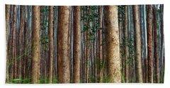 Eucalyptus Forest Beach Towel