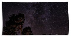 Eucalyptus Galaxy Beach Towel