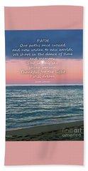 Eulogy Beach Sheet by Joseph J Stevens