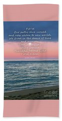 Beach Sheet featuring the pyrography Eulogy by Joseph J Stevens