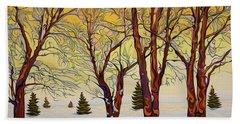 Euphoric Treequility Beach Towel