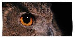 Eurasian Eagle-owl #3 Beach Towel