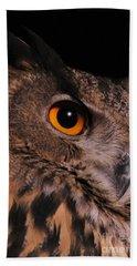 Eurasian Eagle-owl Beach Towel
