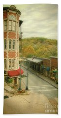 Eureka Springs Beach Towel by Jill Battaglia