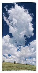 Evanescent Water Vapor  Beach Towel by Bijan Pirnia