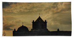 Evening At Goliad Beach Towel