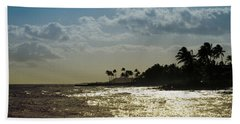 Evening At Poipiu Kauai Beach Towel