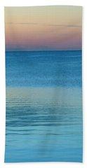 Evening At The Lake Beach Sheet