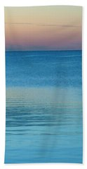 Evening At The Lake Beach Towel