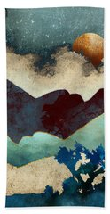 Evening Calm Beach Towel