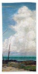 Evening Cloud Beach Towel