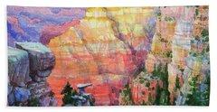 Evening Colors  Beach Towel