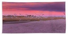 Evening Dance Beach Towel