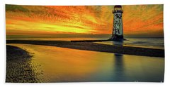 Beach Towel featuring the photograph Evening Delight by Adrian Evans