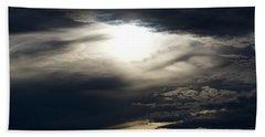 Beach Towel featuring the photograph Evening Eye by Jason Coward