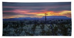 Evening In Marathon Beach Towel